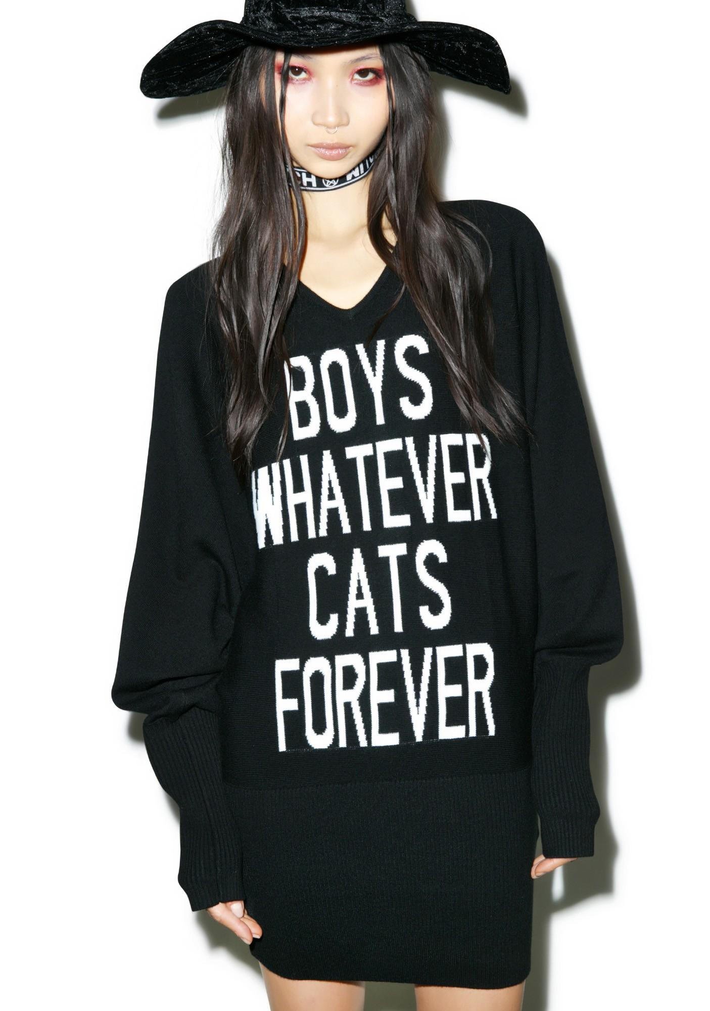 Boys Whatever, Cats Forever