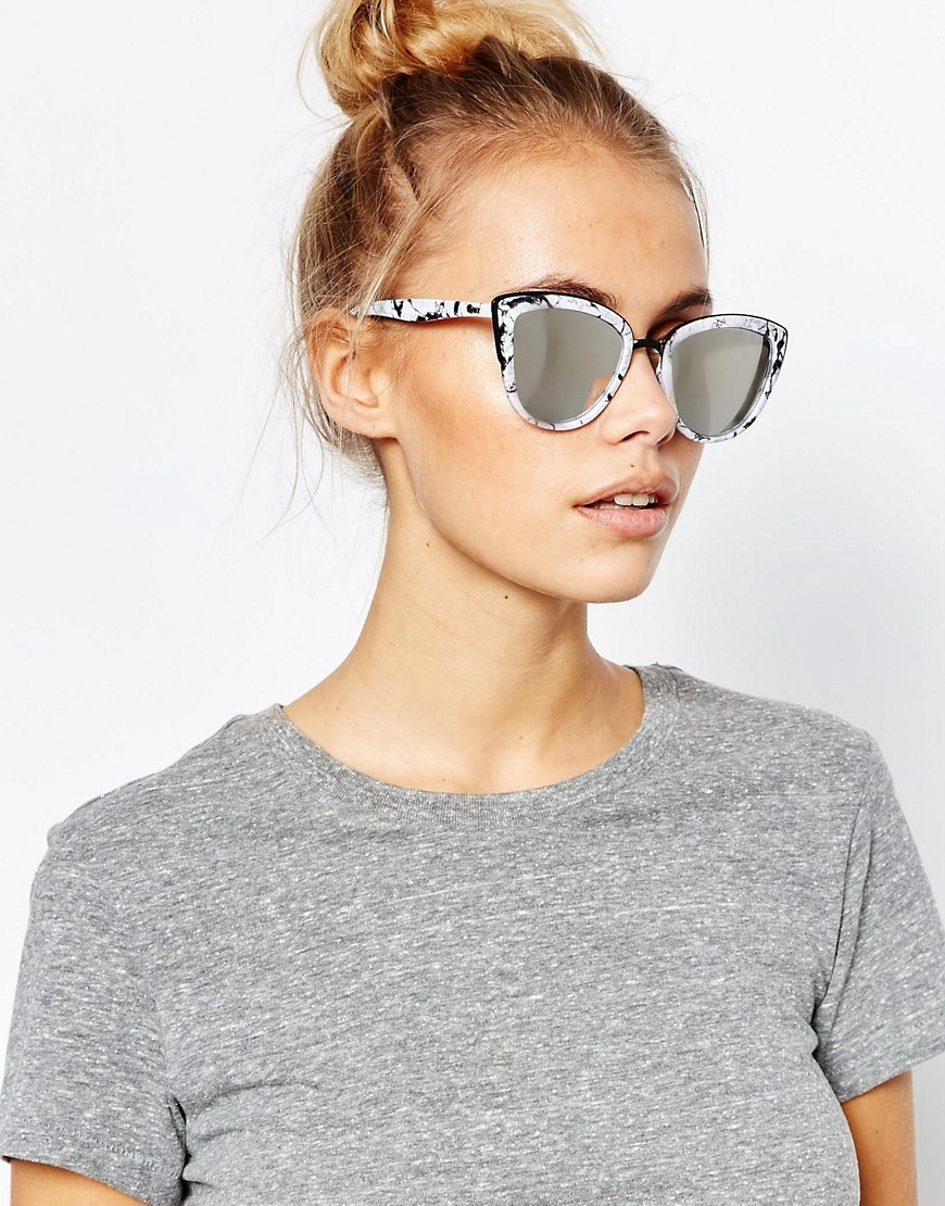 Quay Mirror Cat Eye Sunglasses